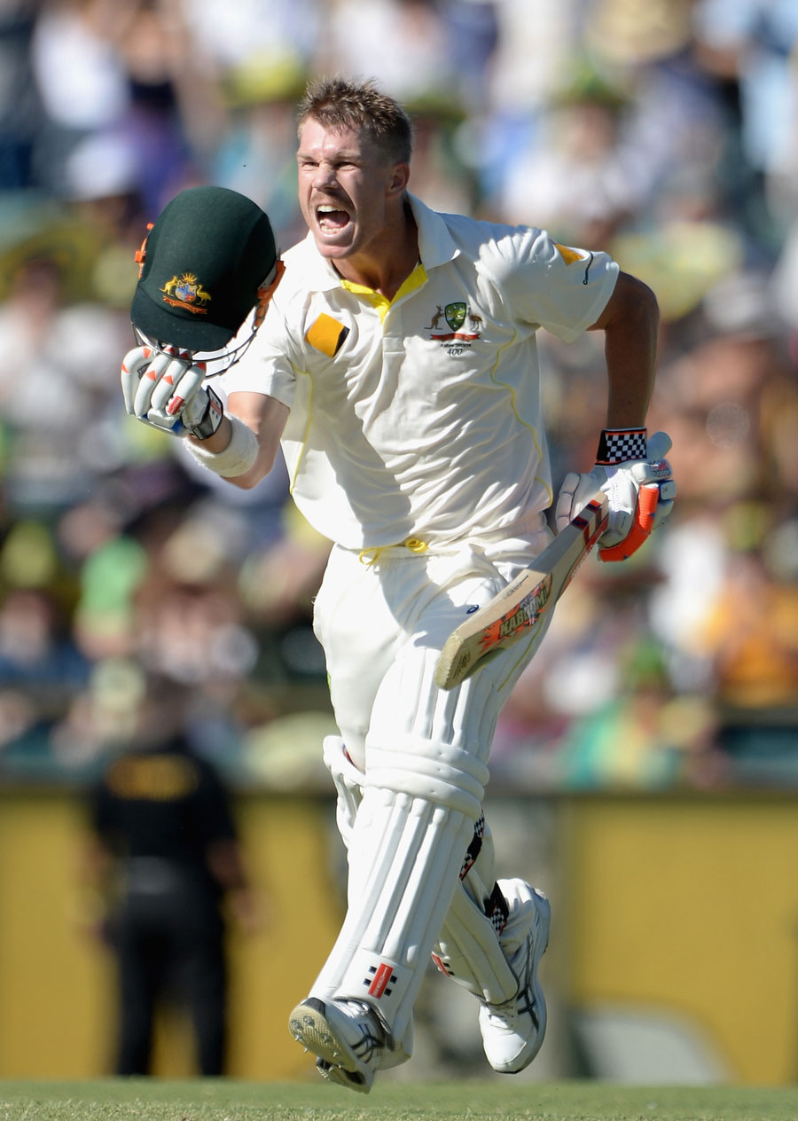 Australia Vs England 3rd Test Day 3 Warner Frustrates England With Yet Another Century Batting With Bimal