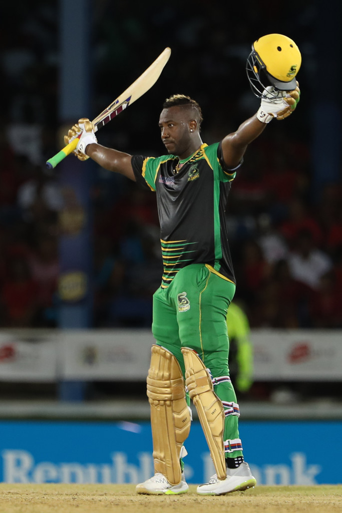 Andre Russell's 121* and hat-trick helps Tallawahs ace record chase