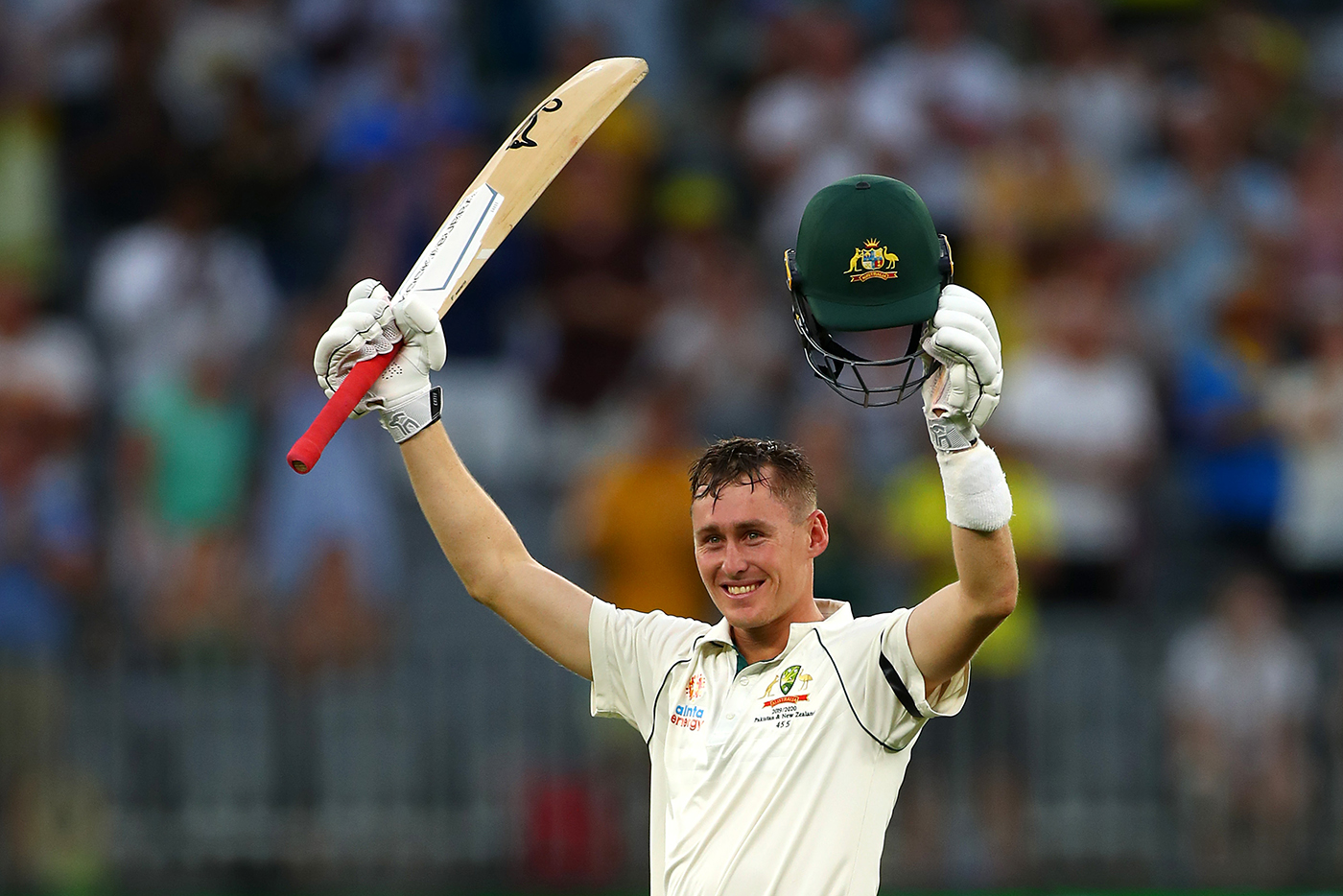 Marnus Labuschagne's hot streak continues as Australia take upper hand