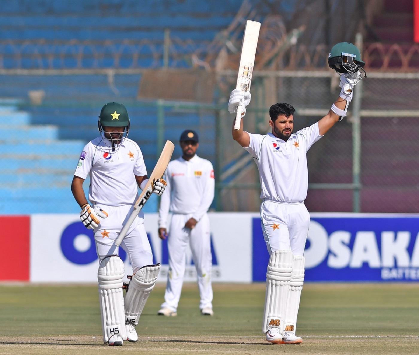 Image result for karachi test pakistan vs sri lanka